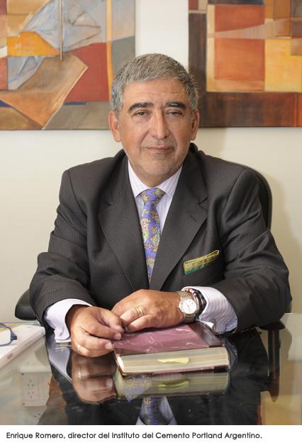 Director del Instituto del Cemento Portland Argentino, Enrique Romero