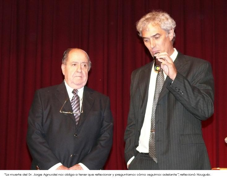 Ing. Felipe Nougués, recientemente nombrado secretario permanente del Congreso Iberolatinoamericano del Asfalto (CILA)