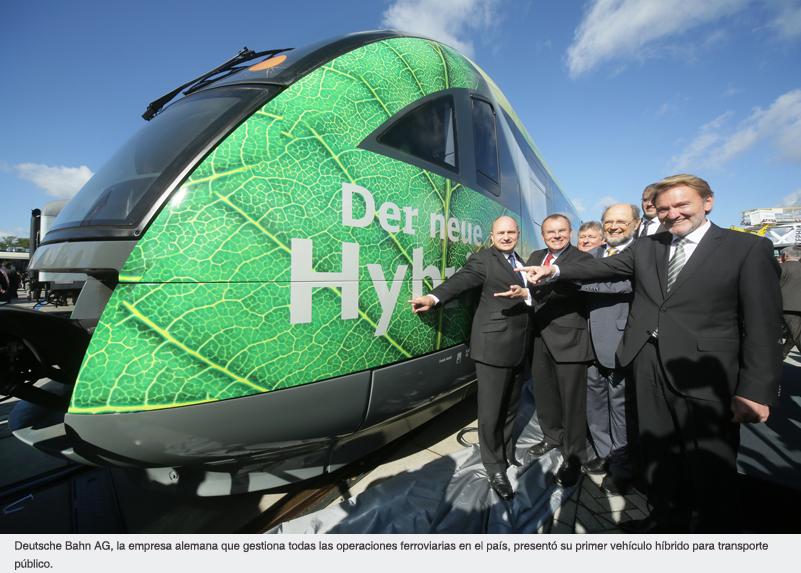 INNOTRANS 2012: EL SECTOR FERROVIARIO SE DIO CITA EN BERLÍN