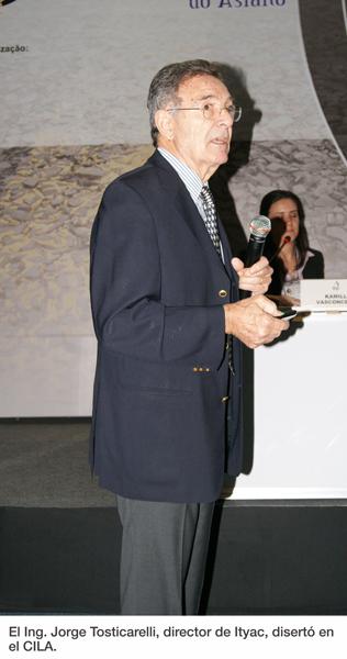 El Ing. Jorge Tosticarelli, director de Ityac, disertó en el CILA.