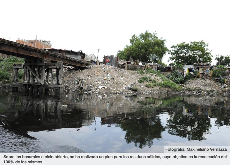 Sobre los basurales a cielo abierto, se ha realizado un plan para los residuos sólidos, cuyo objetivo es la recolección del 100% de los mismos.