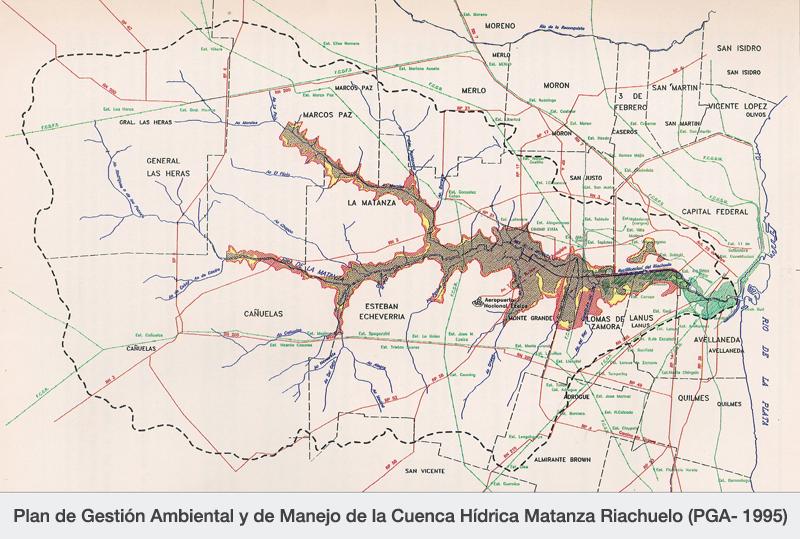 Plan de Gestión Ambiental y de Manejo de la Cuenca Hídrica Matanza Riachuelo (PGA- 1995)