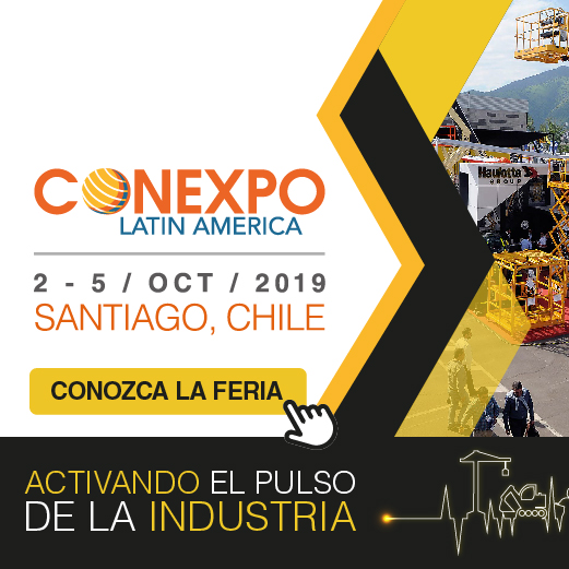 Banner Conexpo 2019