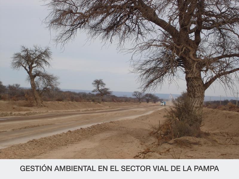 GESTIÓN AMBIENTAL EN EL SECTOR VIAL DE LA PAMPA