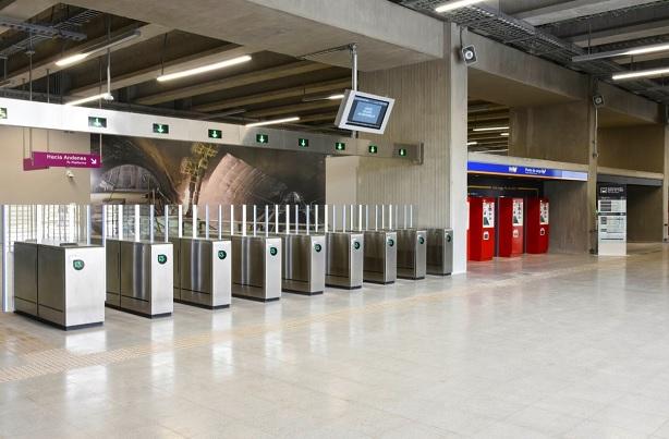 Linea 3 Del Metro De Santiago Revista Vial